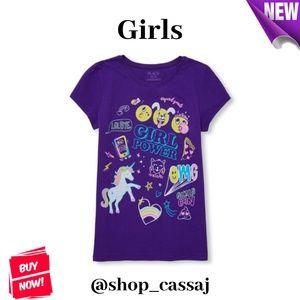 Girls' Girl Power Top